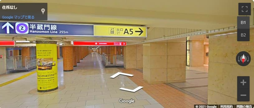 日本橋 三越 本店へのアクセス A5出口