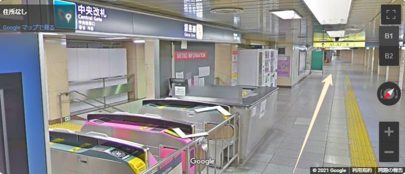 日本橋 三越本店へのアクセス!【最寄り駅】銀座線 改札前