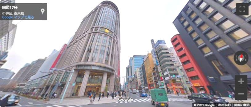 日本橋 三越 本店 入口