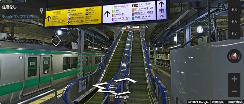 バスタ新宿のアクセス!JRから出口までの行き方