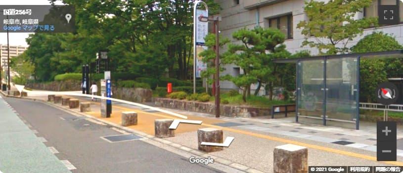 岐阜城への行き方 バス停からアクセス