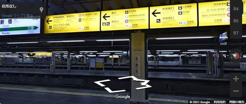 バスタ新宿のアクセス!最寄り駅から出口へ